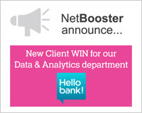 Hello bank! by BNP Paribas chooses NetBooster's Data & Analytics department