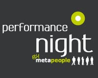Join us at 'Performance Night' by metapeople, the warm-up event before the dmexco 2015 trade fair