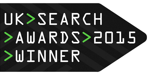 NetBooster wins award at UK Search Awards 2015