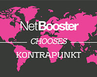 NetBooster chooses Kontrapunkt agency to strengthen its brand globally
