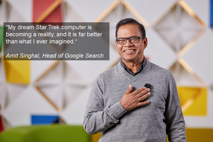 SMX l Amit Singhal l Head of Google Search