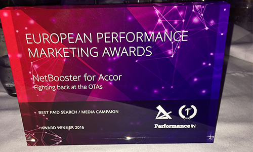 NetBooster wins Best Paid Search / Media Campaign category at European Performance Marketing Awards