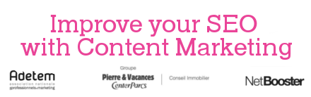 Improve your SEO with content Marketing