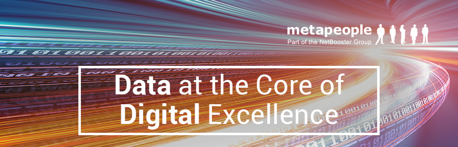 Data at the core of digital excellence